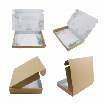 Personalized Decorative Corrugated Mailer Boxes