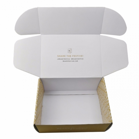 Personalized Large Size Natural Mailing Boxes