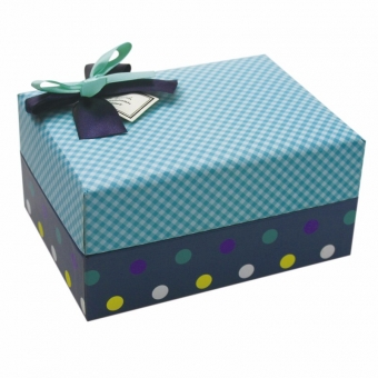 Luxury high quality unique gift box with lid and bow